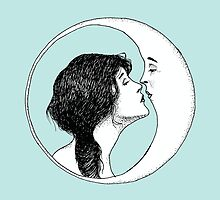 The Lady and the Moon by Chloé Arzuaga