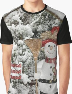 Let It Snow Let It Snow Let It Snow Graphic T-Shirt