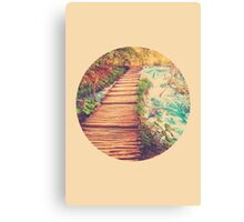 Sojourn Through Serenity - Circle Print Canvas Print
