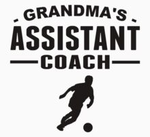 Grandma's Assistant Soccer Coach Baby Tee