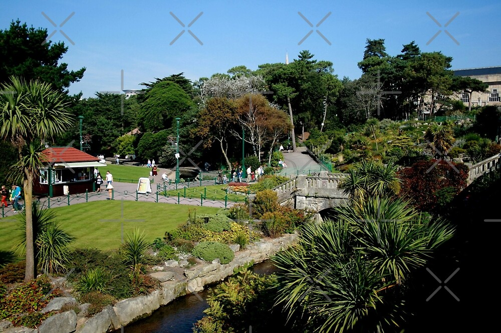 Bournemouth park by Asrais