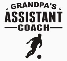 Grandpa's Assistant Soccer Coach Baby Tee