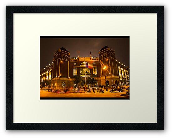 The Rangers Ballpark Entrance at Arlington, Texas.  by Rafiul Alam