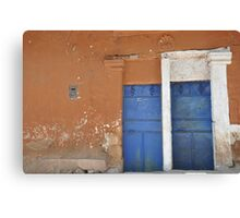 andean range, bolivia, 2011. Canvas Print