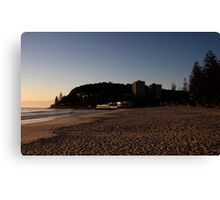 Early At Burleigh Canvas Print