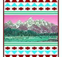 8-Bit Mountains by HamSammy