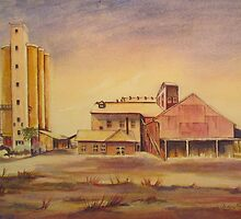 chocolate factory  at Corowa N.S.W. by Audrey  Russill
