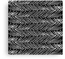 Modern Hand Drawn Scribble Zigzag Canvas Print