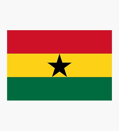 Ghana - Standard Photographic Print