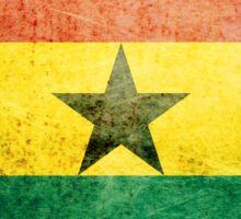 Ghana - Vintage Sticker