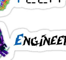 """STEM Symbols and Words""© Sticker"