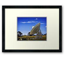 Deep Space Communication Centre Framed Print