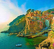 Cinque Terre by Sol Noir Studios