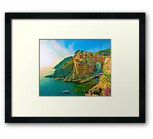 Cinque Terre Framed Print