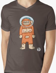 Monkey Brush - Aaron Mens V-Neck T-Shirt