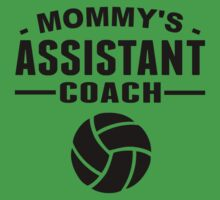 Mommy's Assistant Volleyball Coach Kids Tee