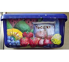 Hubby's Lunchbox (side) Photographic Print