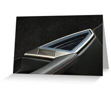 2012 FISKER KARMA EV er - Driver Interior Door Handle Greeting Card