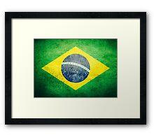 Brazil - Vintage Framed Print