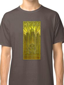 Metropolis Poster in Stained Glass Classic T-Shirt