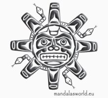 Amerindian Sun n1 by Mandala's World