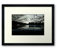 As evening falls © Framed Print
