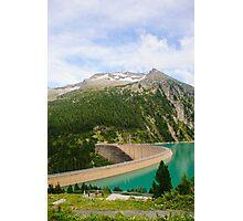 Austria, Zillertal High Alpine nature Park landscape Photographic Print