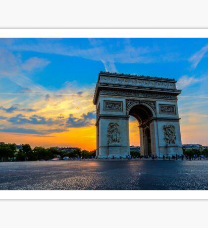 Arc De Triomphe 7 Sticker