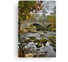 Bridge in Lake District, England Canvas Print
