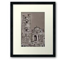 Matrice Erice Framed Print