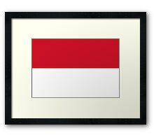Indonesia - Standard Framed Print