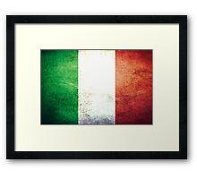 Italy - Vintage Framed Print