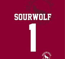 "Derek ""SOURWOLF 1"" Hale Lacrosse Jersey [ iPHONE ] by kinxx"