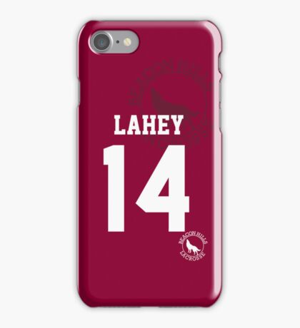 "Teen Wolf - ISAAC ""LAHEY 14"" Lacrosse iPhone Case/Skin"