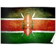 Kenya - Vintage Poster