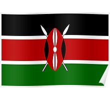 Kenya - Standard Poster