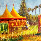 Circus in Town by Bob Abrahams
