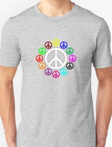 surrounded by peace Unisex T-Shirt