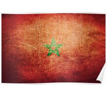 Morocco - Vintage Poster