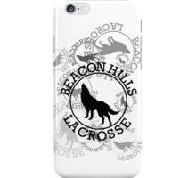 Beacon Hills Lacrosse Team Logo - V2 iPhone Case/Skin