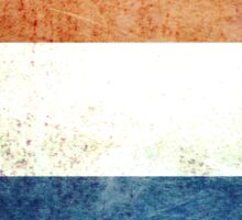 Netherlands - Vintage Sticker