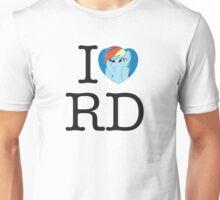 I <3 Rainbow Dash Unisex T-Shirt