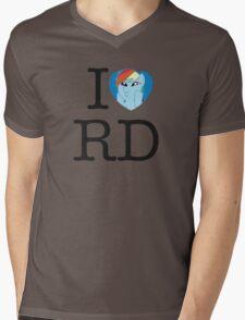 I <3 Rainbow Dash Mens V-Neck T-Shirt