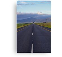 Life Is A Highway Canvas Print