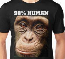 98% HUMAN Unisex T-Shirt