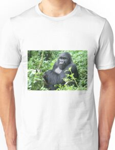 Male Mountain Gorillas in the wild  Unisex T-Shirt