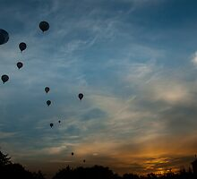 Up, Up and Away by Peter van der Zweep