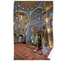 A Tile Paradise; Sokollu Mehmet Pasha Mosque Poster