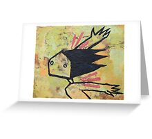 Flying Lessons II Greeting Card