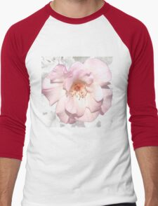 Lady of the dawn rose tee Men's Baseball ¾ T-Shirt
